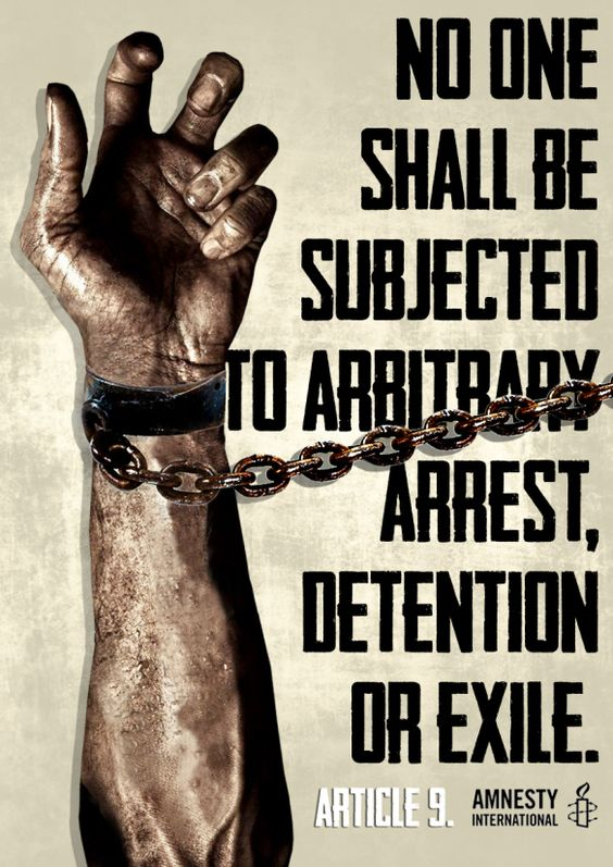 Arrest and Human Rights