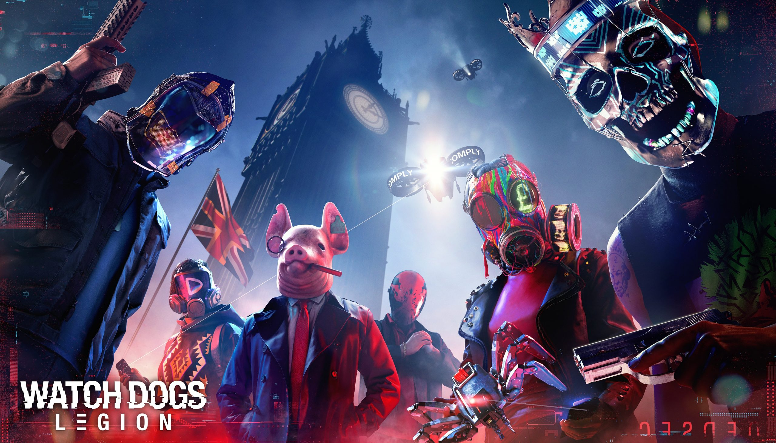 Watch Dogs Legion Release Date, Game Updates Revealed