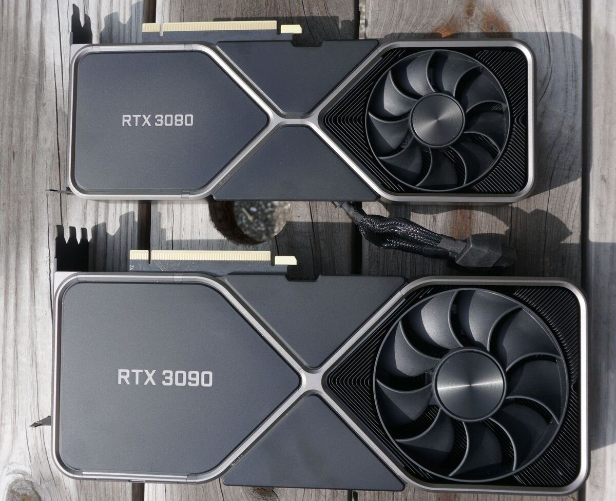 RTX 3090 And RTX 3080